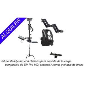 alquiler kit steadycam