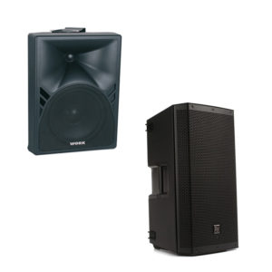 Cajas acústicas Autoamplificadas