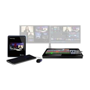 Mezclador Tricaster Mini con 4 entradas HDSI (monitor, panel de control y caja de transporte incluido) - NewTek