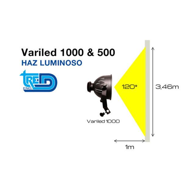 Foco Led Tre-D Variled 500 Luz cálida