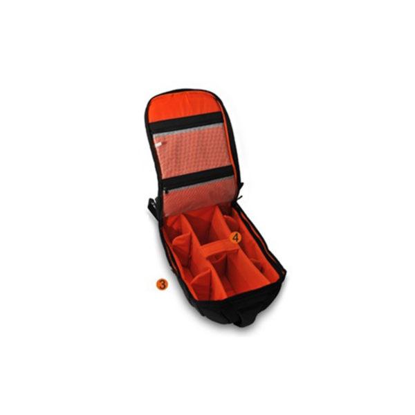 E-image Mochila Oscar300 para cámaras pequeñas y medianas