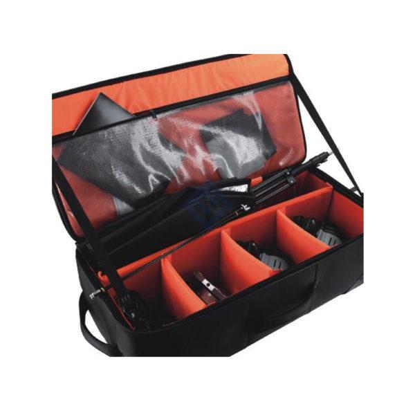 E-image Maleta OscarL10 para focos y accesorios con divisores