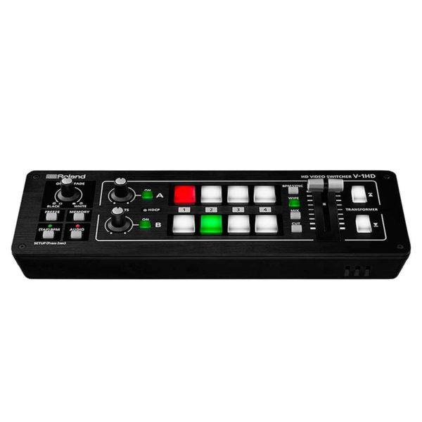 Roland Mezclador de video V 1HD con 4 canales HD