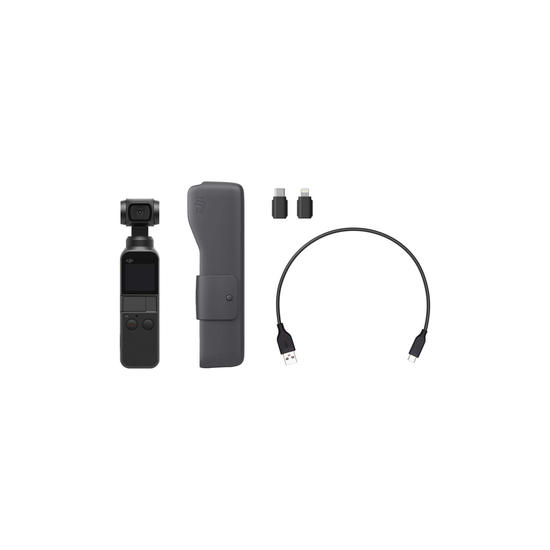 DJI Osmo Pocket 4k y 3 ejes - en stock