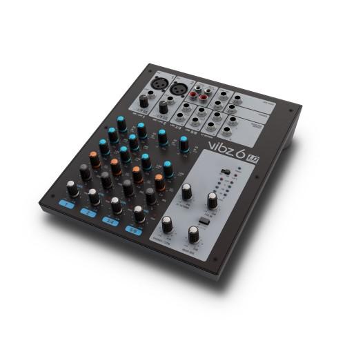 Mesa de mezclas de 6 canales (VIBZ 6) - LD Systems