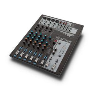 Mesa de mezclas de 8 canales con sección de efectos digitales y compresor (VIBZ 8 dc) - LD Systems