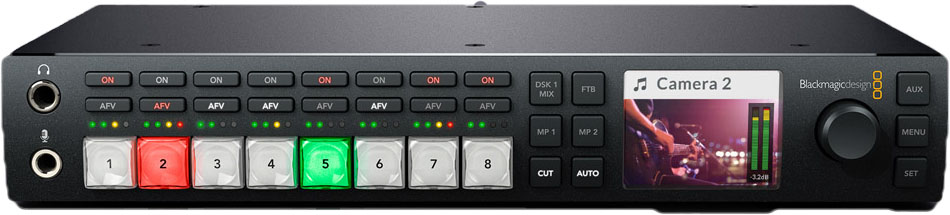 BLACKMAGIC ATEM TELEVISION STUDIO HD.